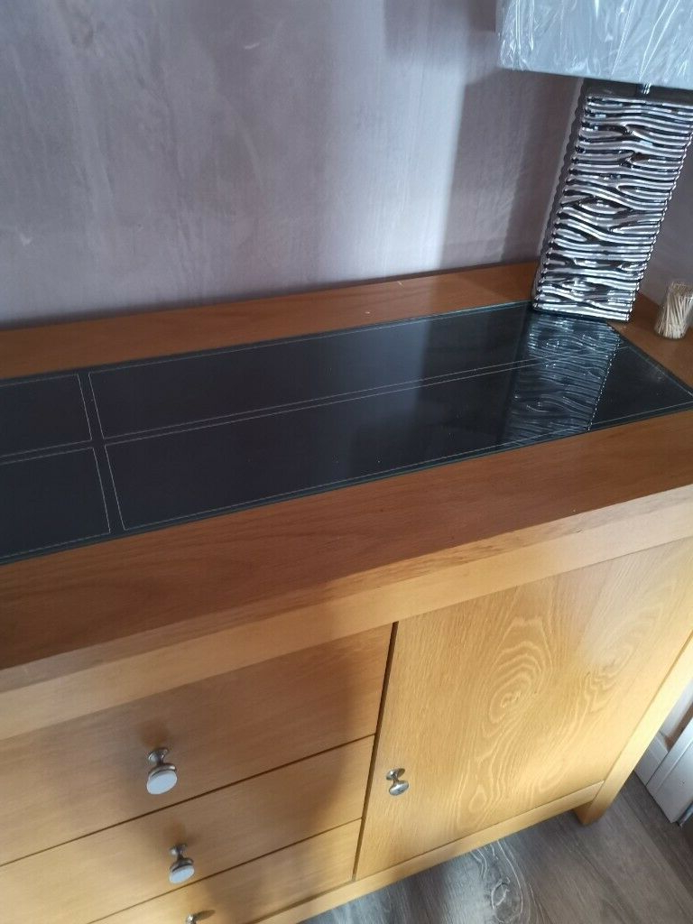 """Well Known Bruin 56"""" Wide 2 Drawer Sideboards Intended For 56 Inch Long X 18 Inch Wide, 3 Drawers 2 Cupboards With (View 14 of 20)"""