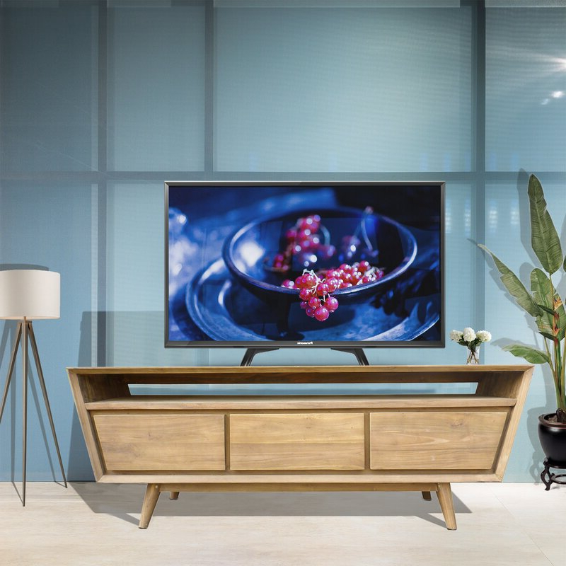"""Well Known Foundry Select Avia Solid Wood Tv Stand For Tvs Up To 70 Pertaining To Lederman Tv Stands For Tvs Up To 70"""" (View 12 of 20)"""