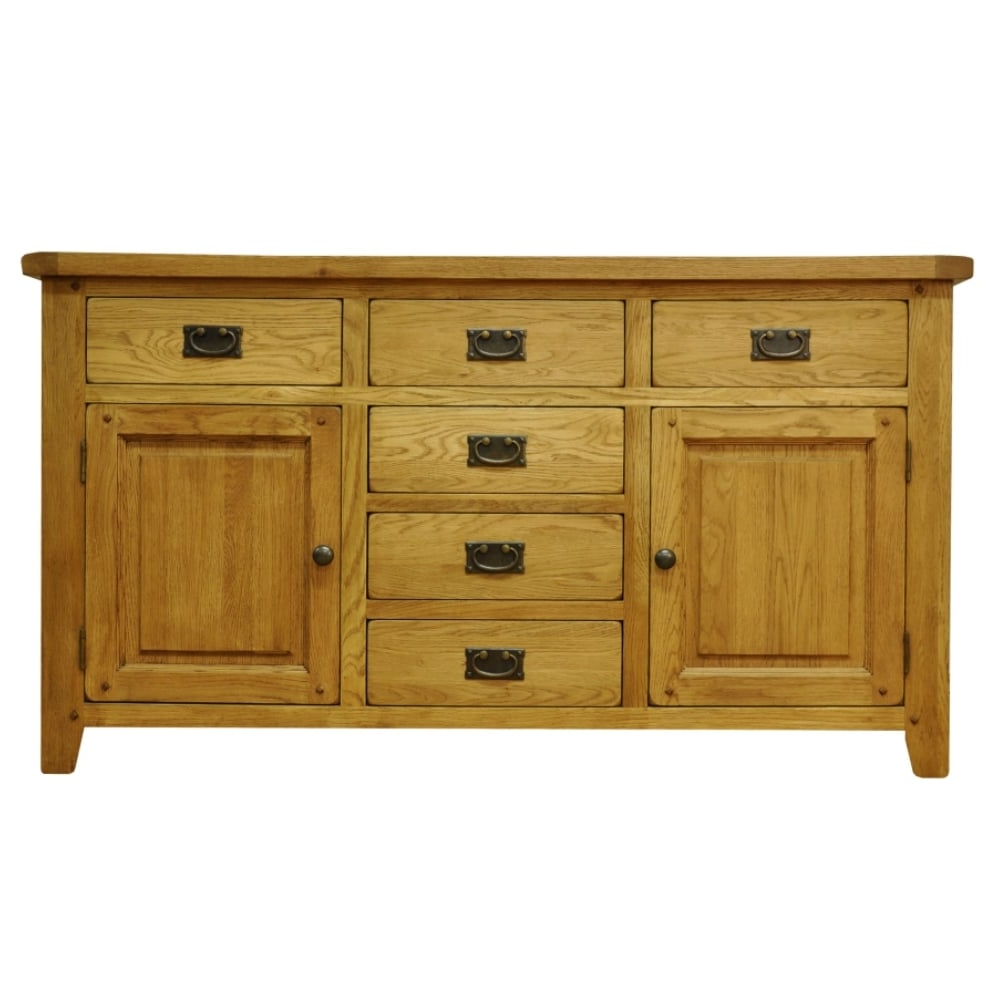 """Well Known Frida 71"""" Wide 2 Drawer Sideboards Throughout Newmarket 2 Door 6 Drawer Sideboard (View 14 of 20)"""