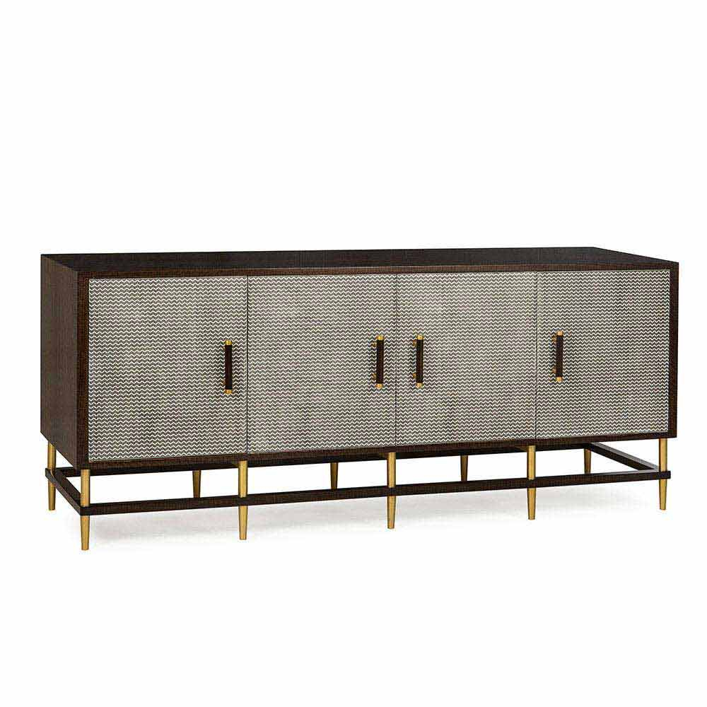 """Well Known Herringbone 48"""" Wide Buffet Tables Throughout Herringbone Sideboard – Rouse Home (View 18 of 20)"""