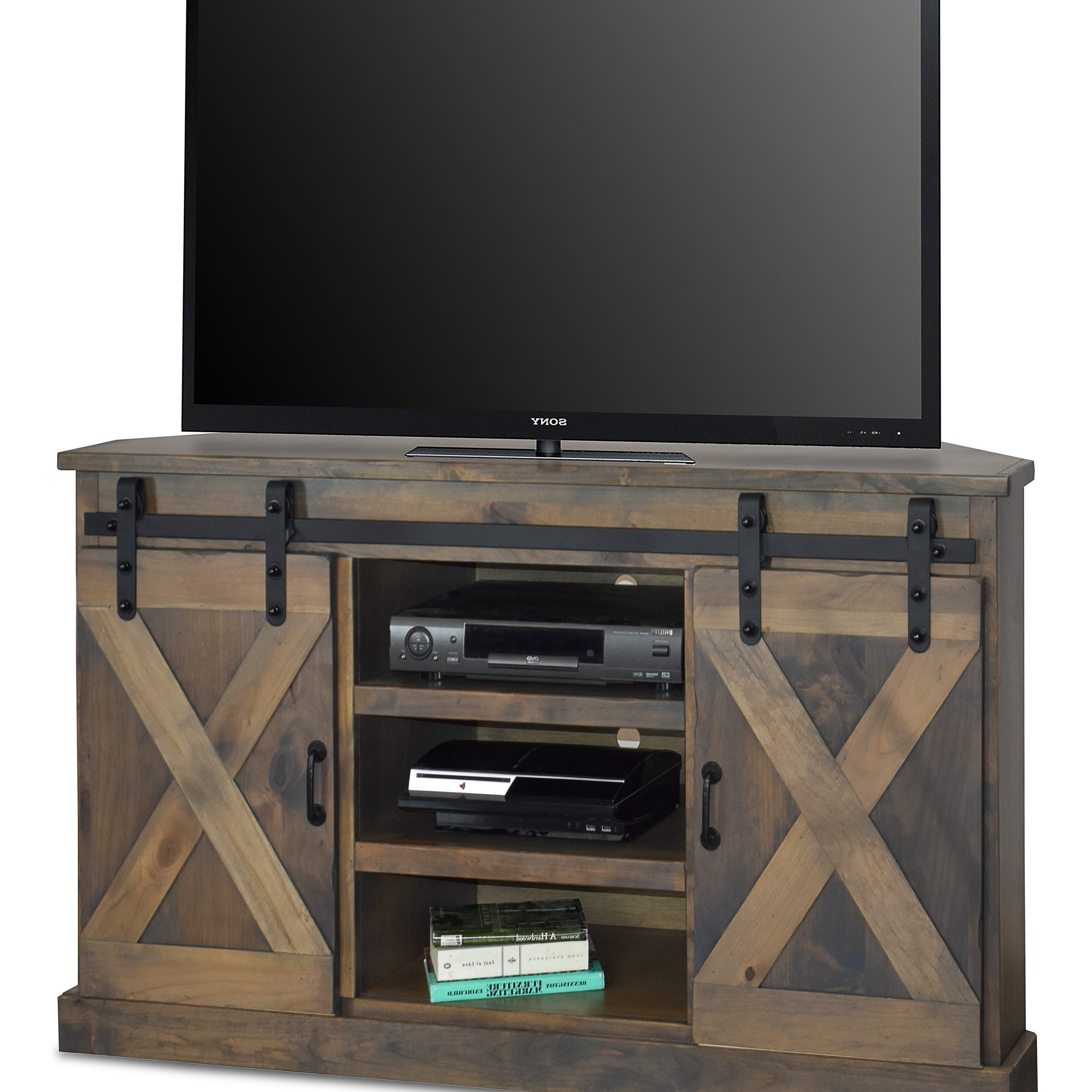"""Well Known Loon Peak Pullman Corner Tv Stand For Tvs Up To 58"""" (View 11 of 20)"""