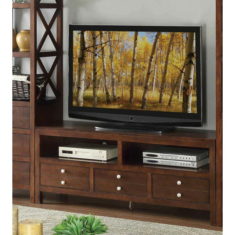 """Well Known Lorraine Tv Stands For Tvs Up To 70"""" Intended For Red Barrel Studio® Lepage Solid Wood Tv Stand For Tvs Up (View 11 of 20)"""