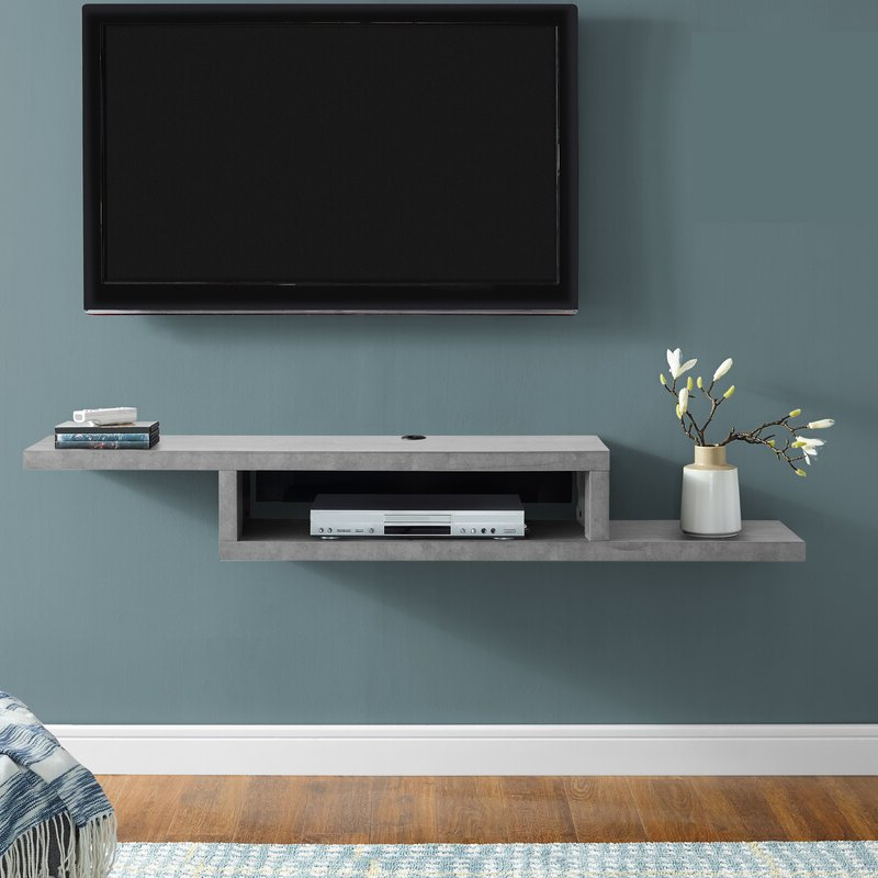"""Well Known Orren Ellis Sroda Floating Tv Stand For Tvs Up To 65 Inside Shilo Tv Stands For Tvs Up To 65"""" (View 4 of 20)"""