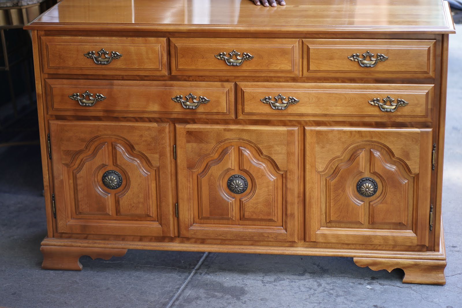 """Well Known Pardeesville 55"""" Wide Buffet Tables Throughout Uhuru Furniture & Collectibles: **sold** # (View 2 of 20)"""