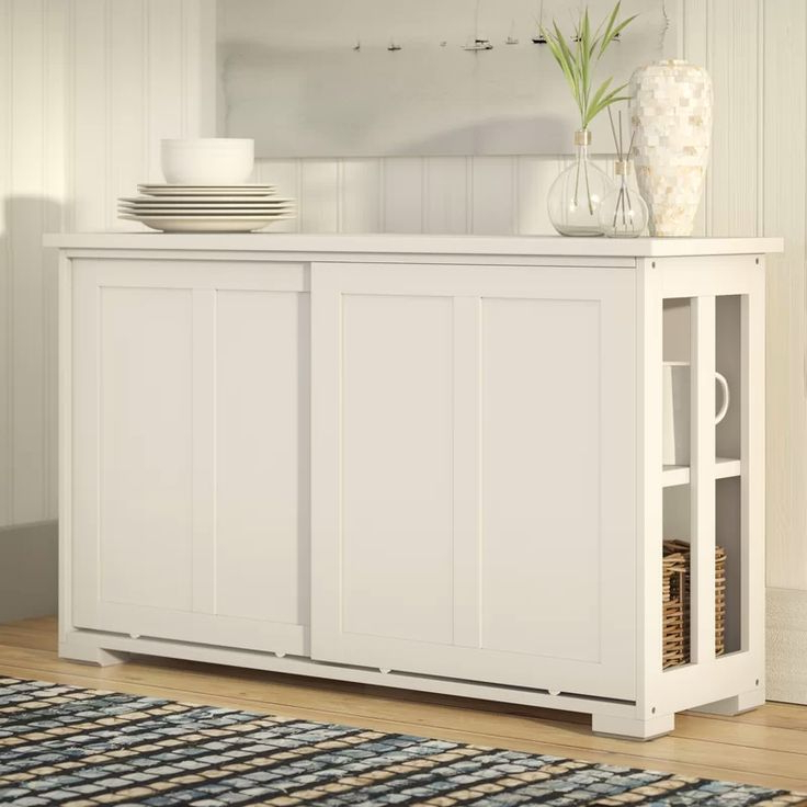 """Well Known South Miami 42"""" Wide Server (with Images) (View 16 of 20)"""