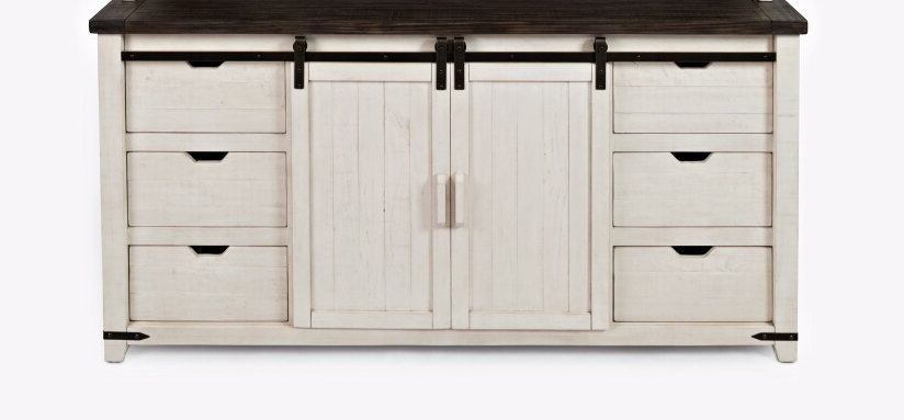 Well Known Westhoff 60 Wide 6 Drawer Pine Sideboard (View 5 of 20)