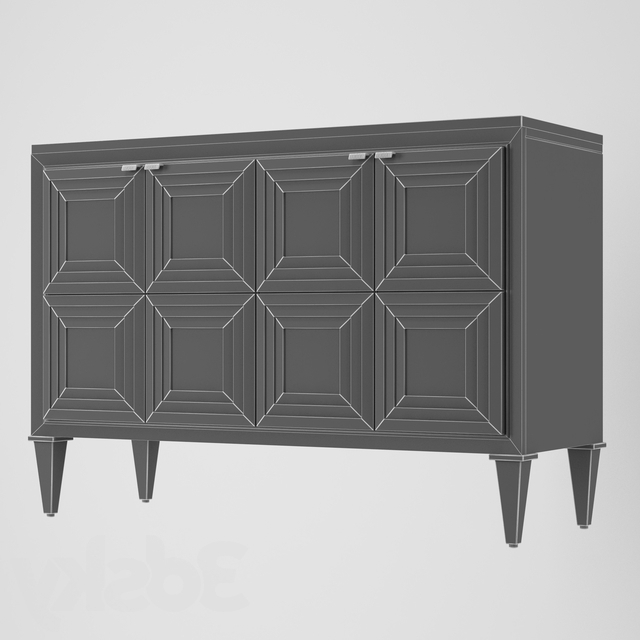Well Liked 3d Models: Sideboard & Chest Of Drawer – Chest Of Drawers In Pitzer (View 10 of 10)