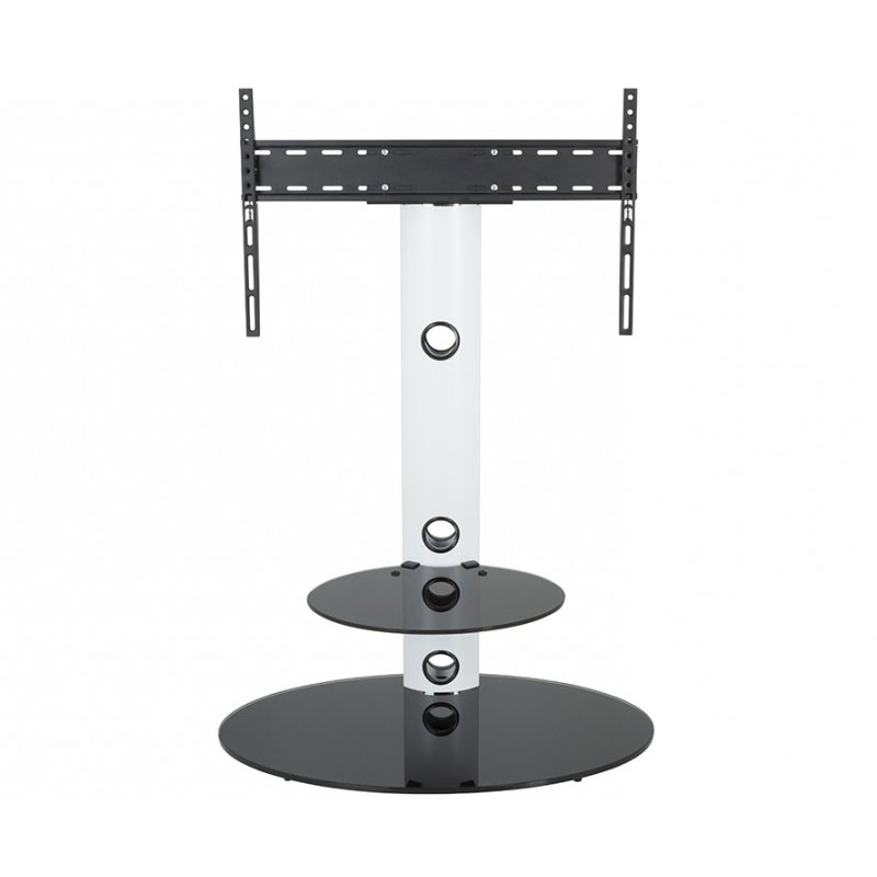"""Well Liked Avf Lugano Pedestal Stand With 32 To 65 Inch Tv Mount Regarding Buckley Tv Stands For Tvs Up To 65"""" (View 17 of 20)"""
