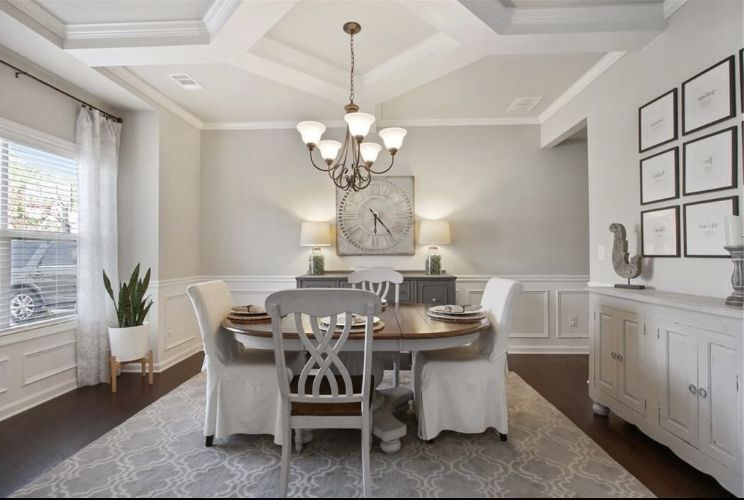 Well Liked Dining Room Decor In  (View 1 of 20)