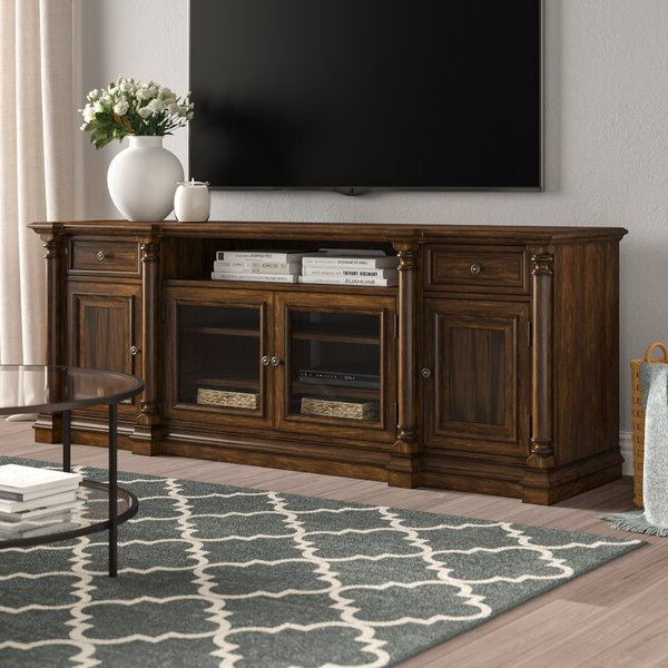 """Well Liked Finnick Tv Stands For Tvs Up To 65"""" In Hooker Furniture Leesburg Solid Wood Tv Stand For Tvs Up (View 17 of 20)"""