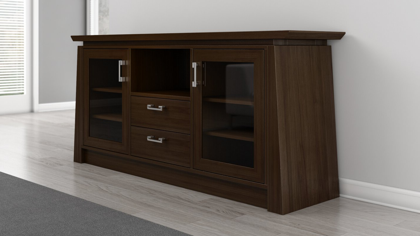 """Well Liked Furnitech Casa Brasil Elegante Modern 70"""" Tv Stand Intended For Huntington Tv Stands For Tvs Up To 70"""" (View 17 of 20)"""