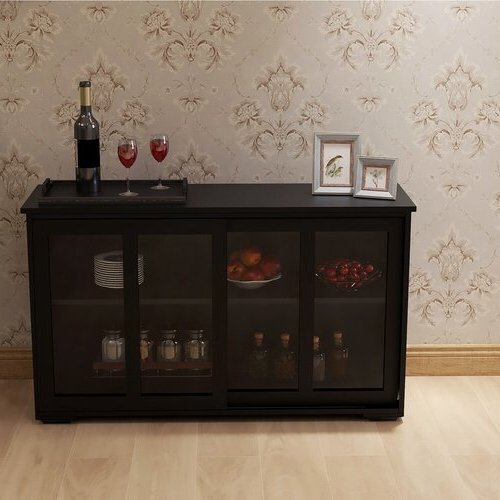 """Well Liked Oretta 41.92"""" Wide Sideboards For Winston Porter Timeo  (View 11 of 20)"""