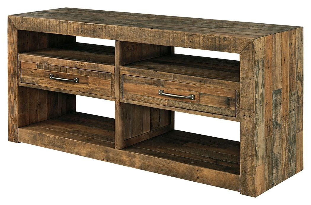 """Westhoff 60"""" Wide 6 Drawer Pine Wood Credenzas Within Most Up To Date Perfect Home Furniture (View 2 of 20)"""