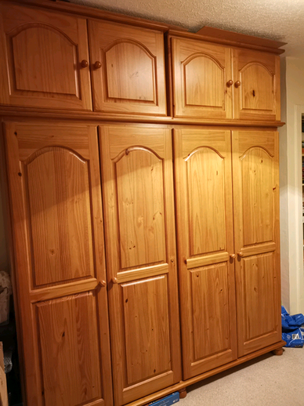 """Westhoff 70"""" Wide 6 Drawer Pine Wood Sideboards Pertaining To Most Popular Solid Pine Bedroom Furniture (View 10 of 20)"""