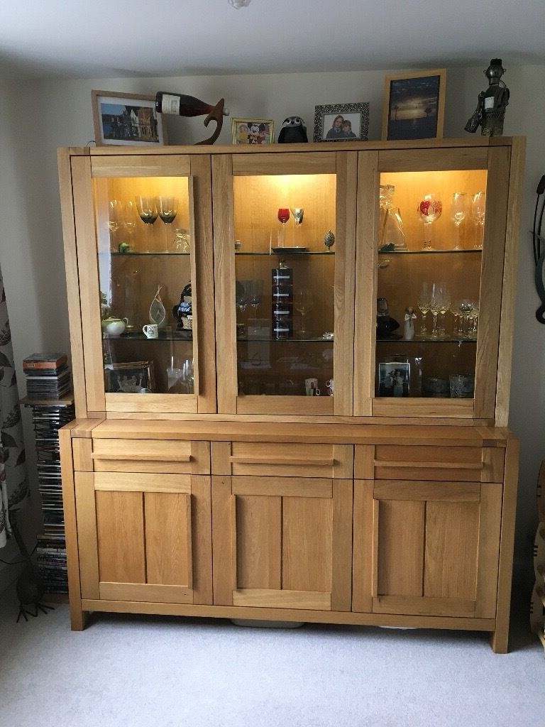 """Westhoff 70"""" Wide 6 Drawer Pine Wood Sideboards With Regard To Preferred Solid Oak M&s Sonoma 3 Door Sideboard And Glazed Top (View 11 of 20)"""