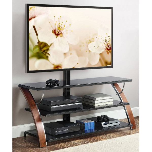 """Whalen Payton 3 In 1 Flat Panel Tv Stand For Tvs Up To 65″ Intended For Best And Newest Aaric Tv Stands For Tvs Up To 65"""" (View 15 of 20)"""