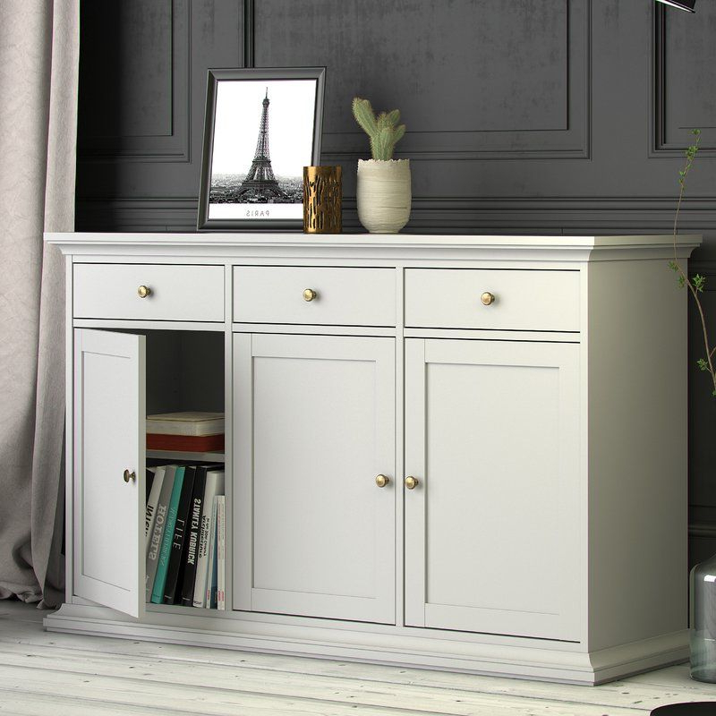 White Sideboard (View 4 of 20)