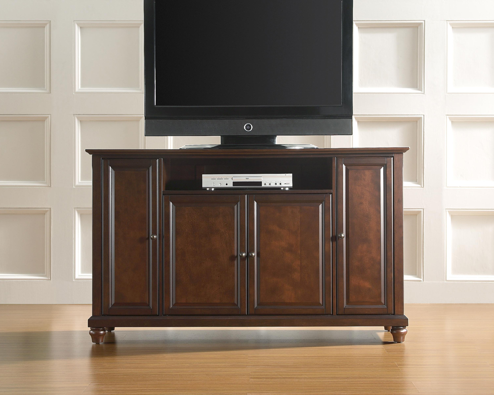 """Whittier Tv Stands For Tvs Up To 60"""" In Most Recently Released Crosley Furniture – Cambridge 60"""" Tv Stand In Vintage (View 12 of 20)"""