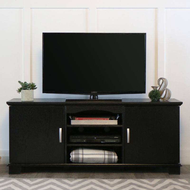 """Widely Used Adora Tv Stands For Tvs Up To 65"""" For Walker Edison Jamestown 65 Inch Tv Cabinet Black W60c73bl (View 11 of 20)"""