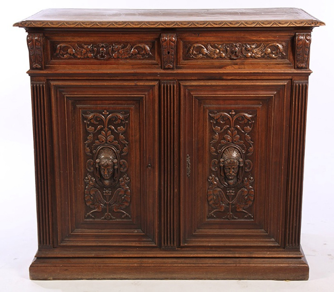 Widely Used Antique Front Bars With Short Sideboards (View 10 of 20)