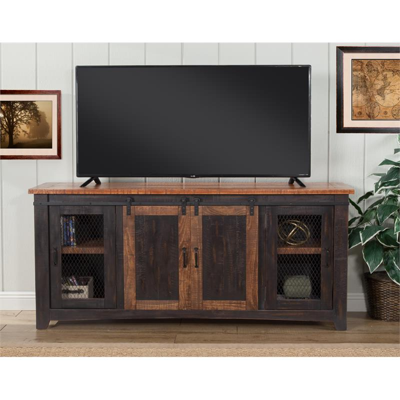 """Widely Used Finnick Tv Stands For Tvs Up To 65"""" For Martin Svensson Home Santa Fe 65"""" Solid Wood Tv Stand (View 10 of 20)"""