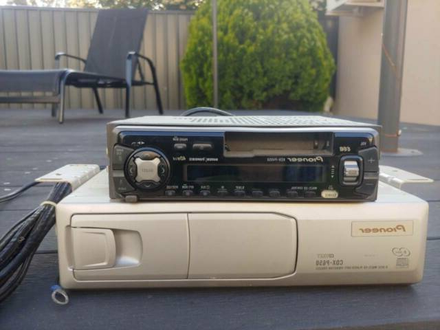 Widely Used Genuine Pioneer Multi Cd, Cassette, Am/fm Tuner W/ 6 Cd Throughout Follett (View 18 of 20)