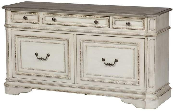 """Widely Used Isra 56"""" Wide 3 Drawer Sideboards With Regard To Birch Lane Heritage Salinas Sideboard (View 20 of 20)"""