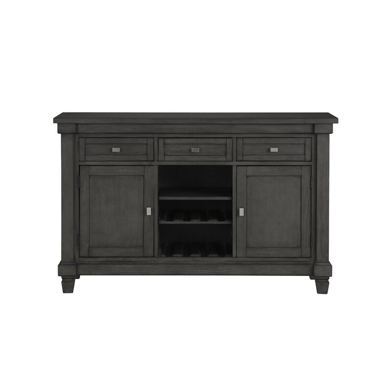 """Widely Used Red Barrel Studio® Cineraria 58'' Wide 3 Drawer Ash Wood With Islesboro 58"""" Wide Sideboards (View 15 of 20)"""