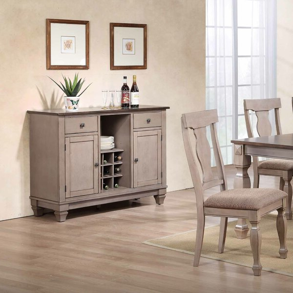 """Winston Porter Leydy 48"""" Wide 2 Drawer Sideboard (View 8 of 20)"""