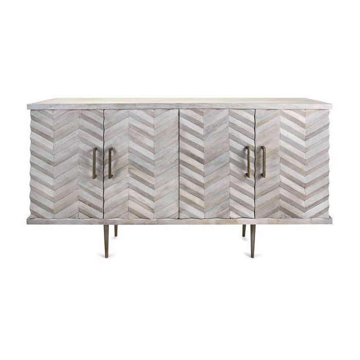 """Wood Buffet, Furniture For Zinaida 59"""" Wide Mango Wood Buffet Tables (View 20 of 20)"""