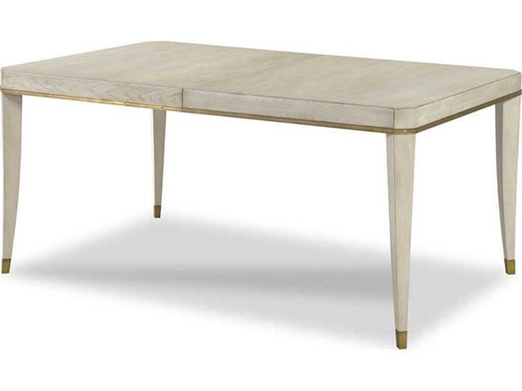 Woodbridge Furniture Luna 64'' Wide Rectangular Dining Inside Most Up To Date Strine  (View 7 of 20)