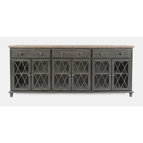 """Wooden Doors Intended For Favorite Maeva 60"""" 3 Drawer Sideboards (View 10 of 20)"""