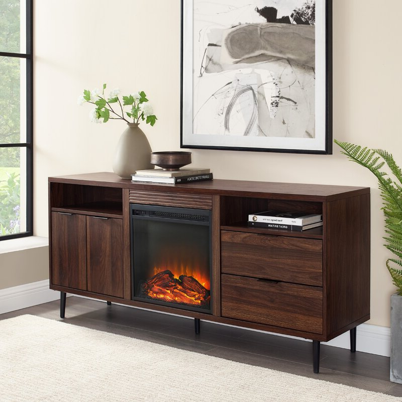 """Wrought Studio Eglinton Tv Stand For Tvs Up To 65"""" With With Most Up To Date Metin Tv Stands For Tvs Up To 65"""" (View 12 of 20)"""