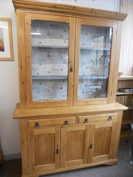 "Yukon 58"" Wide 2 Drawer Pine Wood Sideboards Inside 2019 Glazed Pine Dresser (View 9 of 20)"