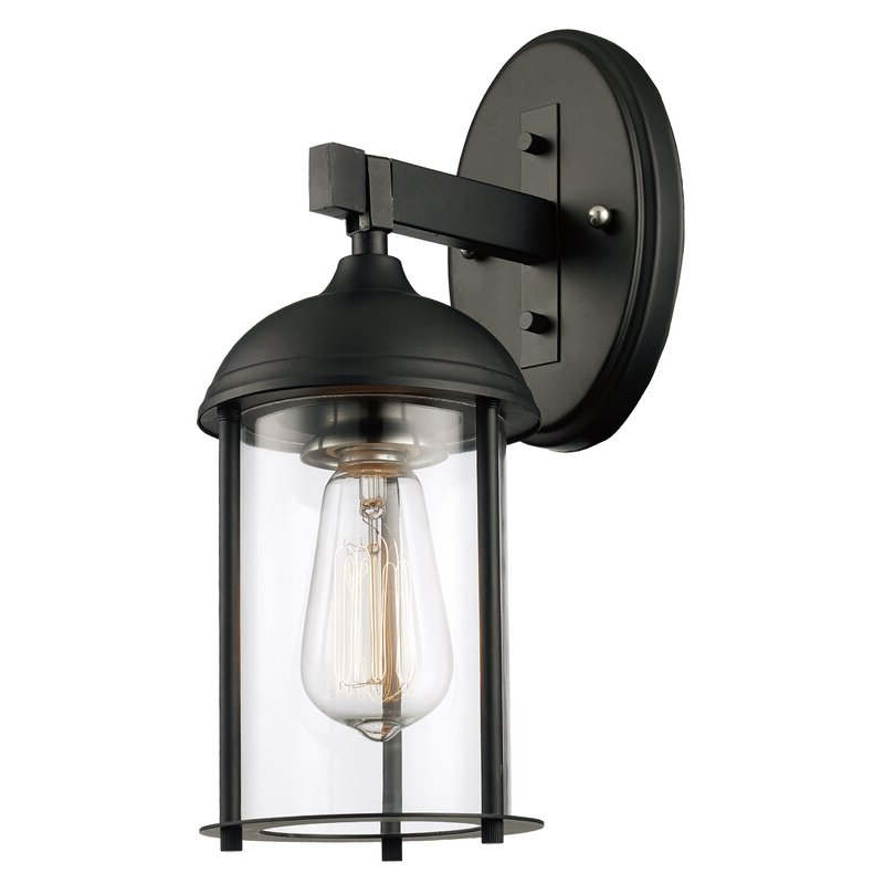 1 – Bulb Outdoor Wall Lanterns With Regard To Current Trent Austin Design Marshall 1 Light Outdoor Wall Lantern (View 8 of 20)