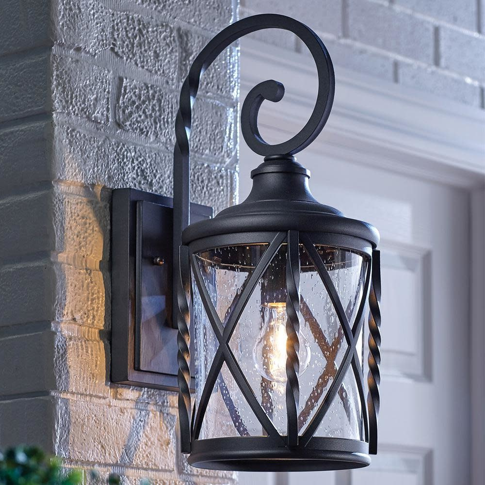 Featured Photo of Chelston Seeded Glass Outdoor Wall Lanterns