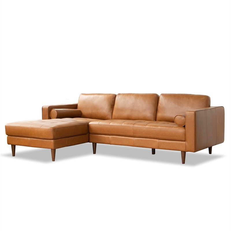 """102"""" Stockton Sectional Couches With Reversible Chaise Lounge Herringbone Fabric In Newest Sectional Couches: Buy Living Room Sectional Sofas Online (View 9 of 20)"""