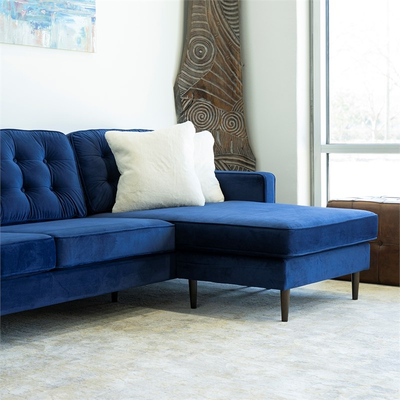 """102"""" Stockton Sectional Couches With Reversible Chaise Lounge Herringbone Fabric Intended For Famous Sectionals Sofas On Sale : Stylish Sectionals Sofas (View 20 of 20)"""