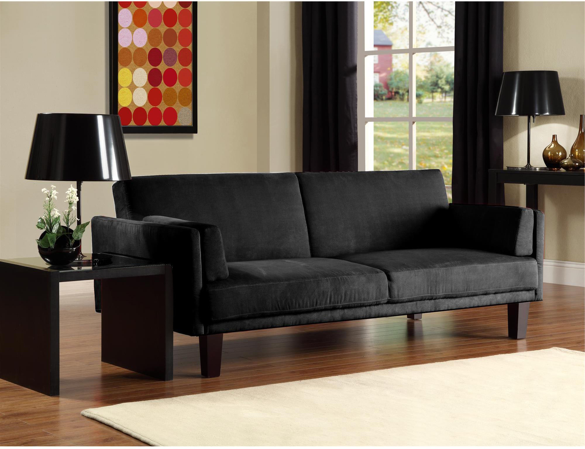 12 Affordable (and Chic) Small Sleeper Sofas For Tight Spaces Regarding Most Current Easton Small Space Sectional Futon Sofas (View 15 of 20)