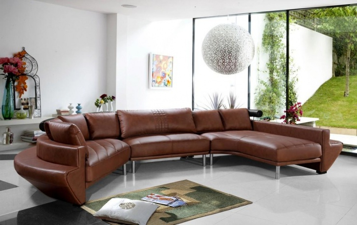18+ Curved Sectional Sofa Designs, Ideas (View 10 of 20)