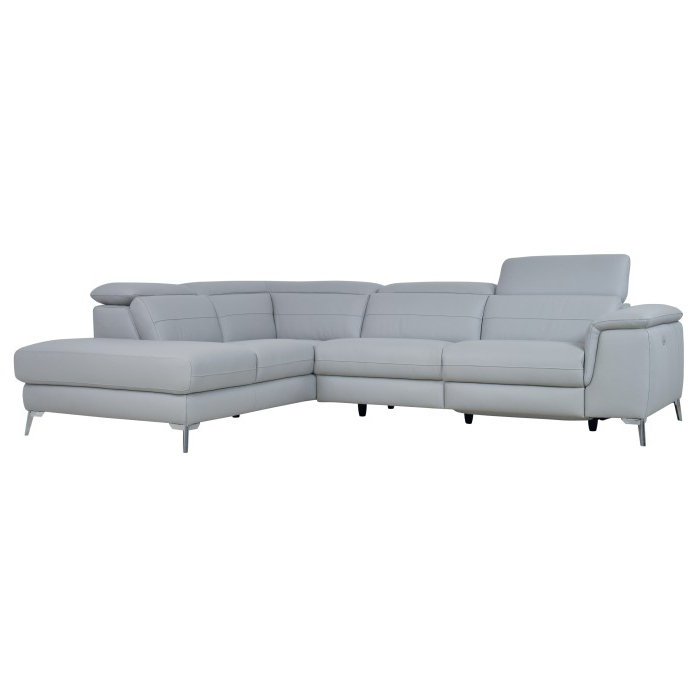 [%2 Pc 100% Top Grain Leather Sectional Light Gray  Cinque With Most Popular Matilda 100% Top Grain Leather Chaise Sectional Sofas|matilda 100% Top Grain Leather Chaise Sectional Sofas Within Most Up To Date 2 Pc 100% Top Grain Leather Sectional Light Gray  Cinque|most Current Matilda 100% Top Grain Leather Chaise Sectional Sofas Inside 2 Pc 100% Top Grain Leather Sectional Light Gray  Cinque|most Popular 2 Pc 100% Top Grain Leather Sectional Light Gray  Cinque With Matilda 100% Top Grain Leather Chaise Sectional Sofas%] (View 14 of 20)