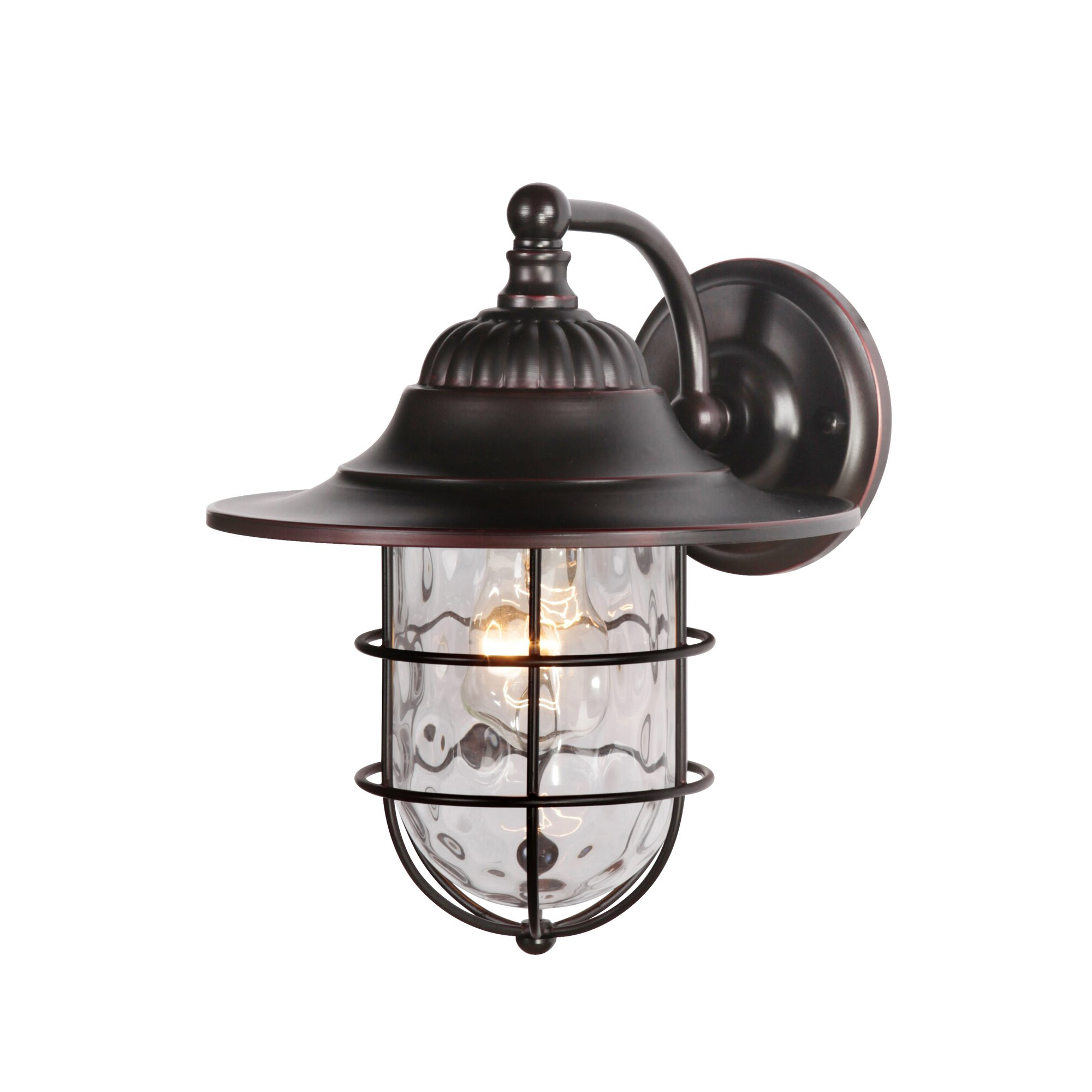 2018 Arryonna Outdoor Barn Lights Regarding Craftmade Fairmont 1 Light Outdoor Barn Light & Reviews (View 16 of 20)