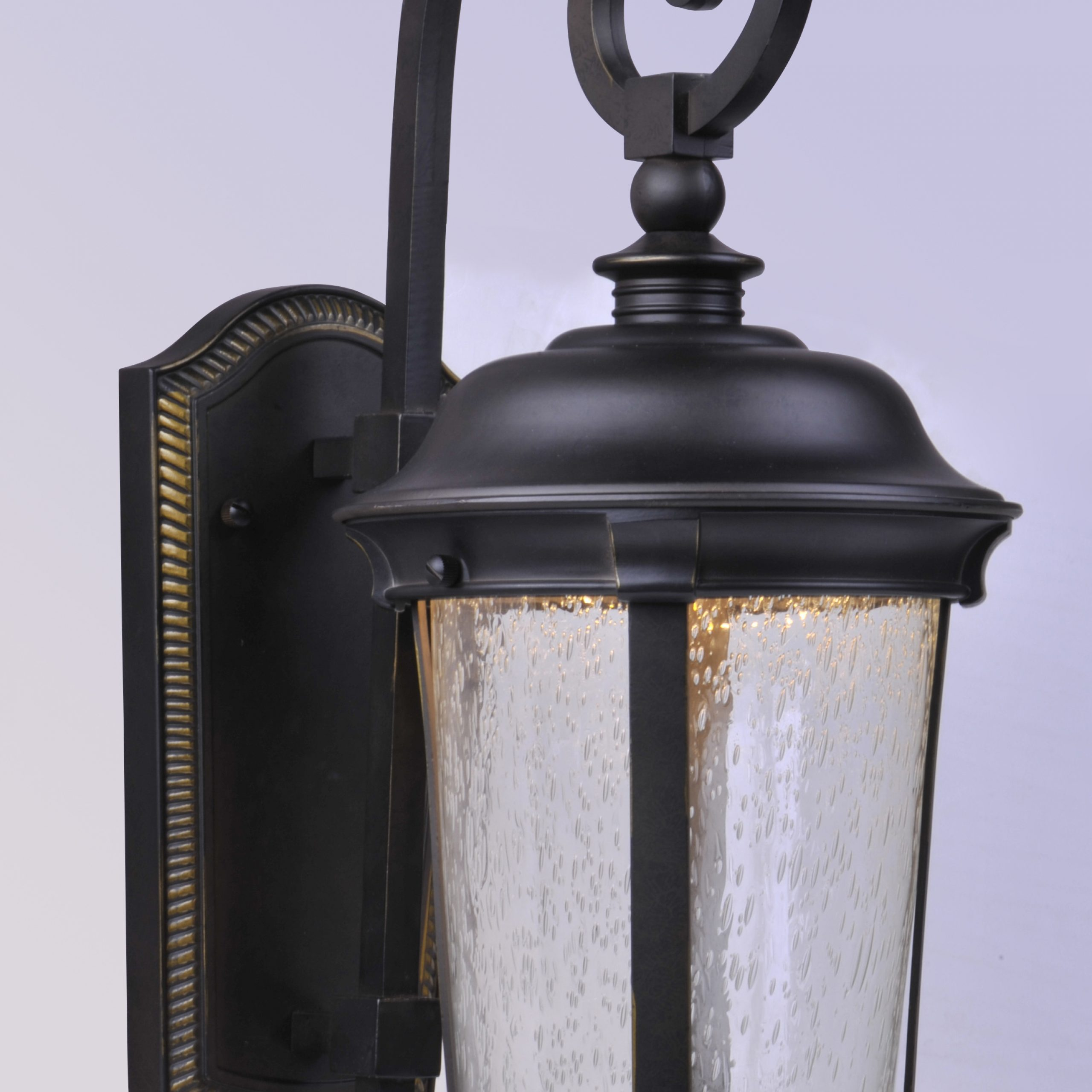Featured Photo of Castellanos Black Outdoor Wall Lanterns