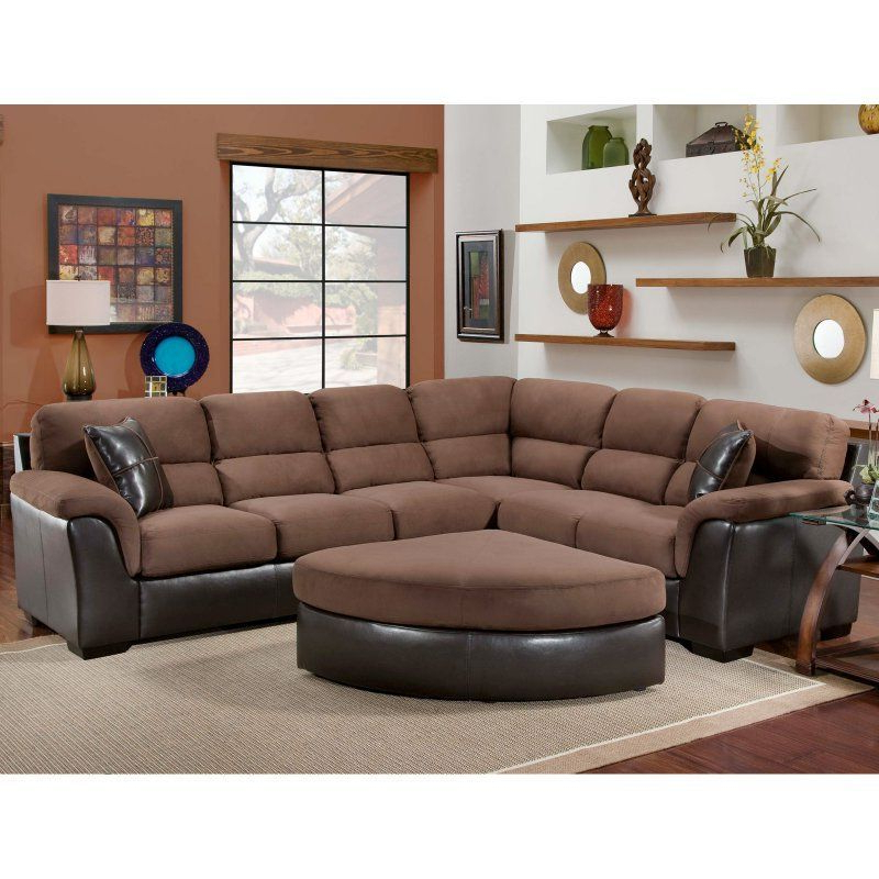 2018 Chelsea Home Mclean 2 Piece Sectional Sofa – Chel1685 Pertaining To 2pc Maddox Right Arm Facing Sectional Sofas With Chaise Brown (View 19 of 20)