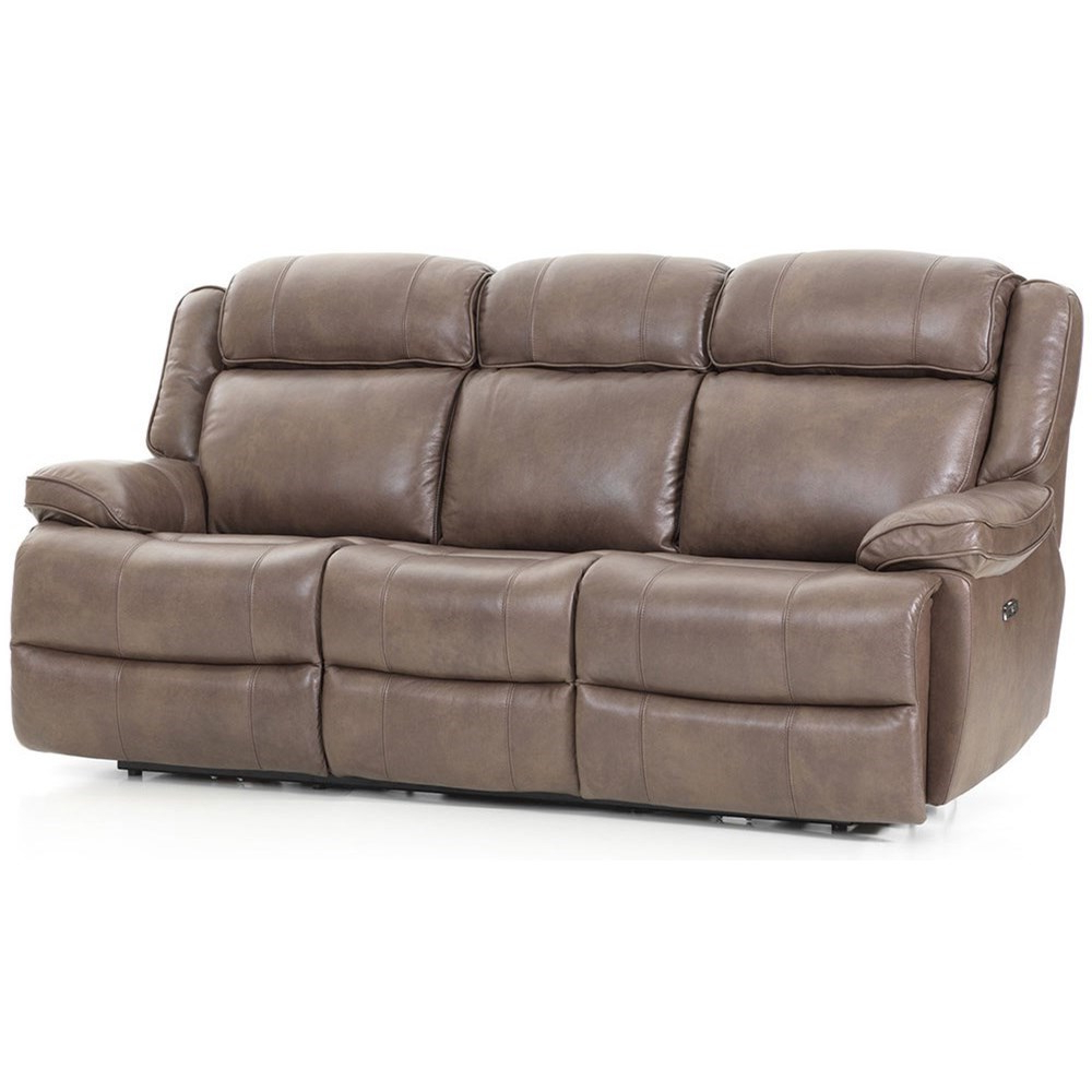 2018 Dual Power Reclining Sofas With Intercon Avalon Casual Dual Power Reclining Sofa With (View 2 of 20)