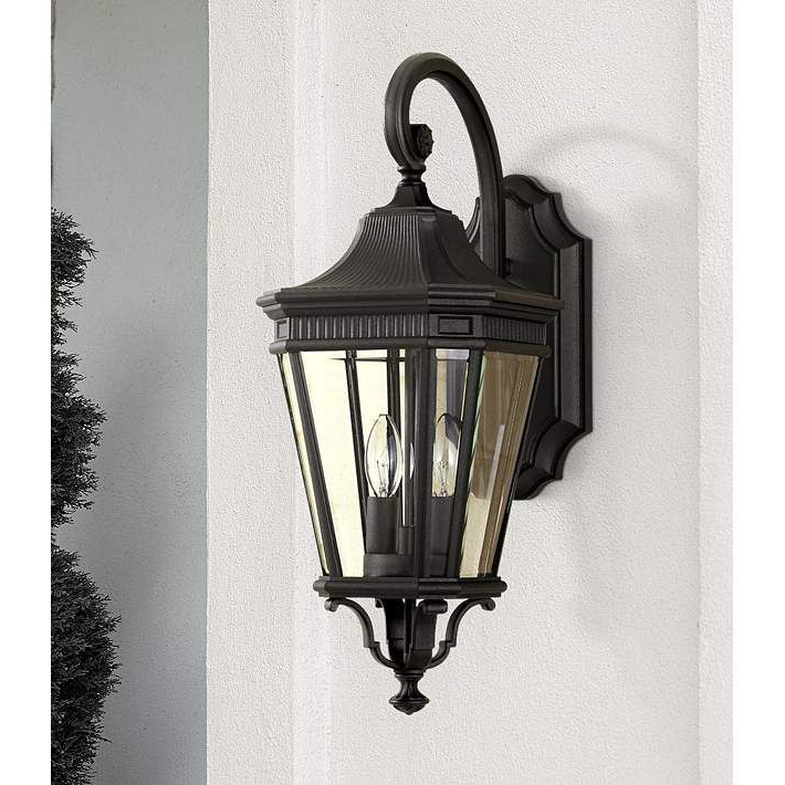 """2018 Feiss Cotswold Lane 20 1/2""""h Black Outdoor Wall Light – # Inside Keiki Matte Black Outdoor Wall Lanterns (View 14 of 20)"""