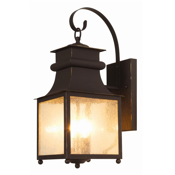 2018 Homesteader Seeded Glass Outdoor Wall Lantern – 3 Light In Anner Seeded Glass Outdoor Wall Lanterns (View 11 of 20)