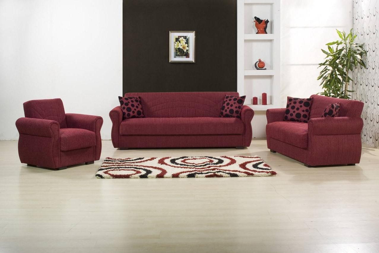 2018 Rain Chenille Maryposo Burgundy Sofa Bed Kilim – Gabe Throughout Hugo Chenille Upholstered Storage Sectional Futon Sofas (View 18 of 20)