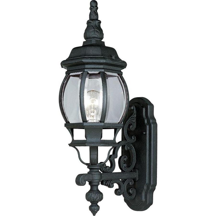 2018 Socorro Black Outdoor Wall Lanterns Inside Progress Lighting Onion Lantern  (View 10 of 20)