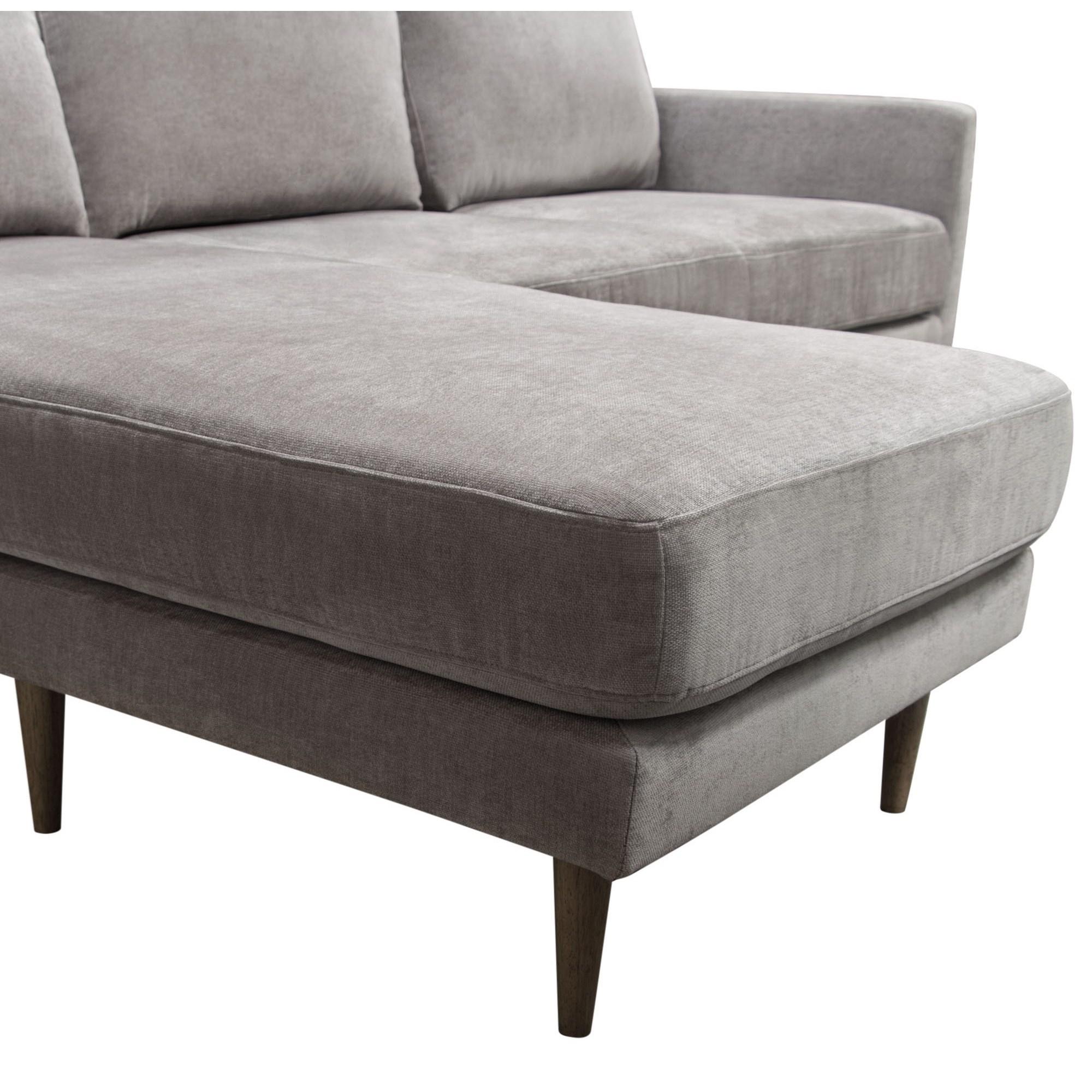 2018 Verona Mid Century Reversible Sectional Sofas Throughout Diamond Sofa Furniture Kelsey Kelseysegr Mid Century (View 19 of 20)